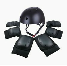 7Pcs. Sports Skating Protective Gear Set Safety Helmet Knee Elbow, Wrist Pads
