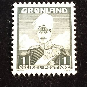 1938 Greenland Postage Stamp Unused
