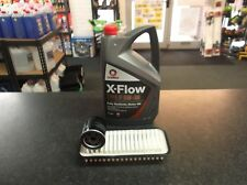CITROEN C1 1.0 SERVICE KIT OIL & AIR FILTERS - 5 LITRES OIL COMMA XFLOW