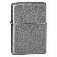 Zippo Genuine Classic Antique Silver Plate Windproof Cigarette Tobacco Lighter
