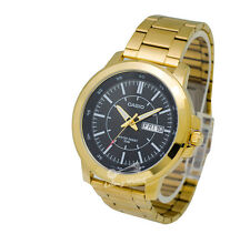 -Casio MTPX100G-1E Men's Metal Fashion Watch Brand New & 100% Authentic