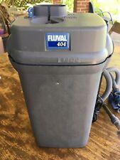 Hagen Fluval 404 Cannister Filter, 100 Gallons!