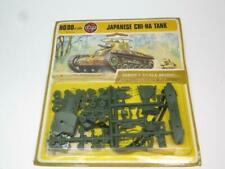 AIRFIX HO/OO MODEL KIT Japanese Chi-Ha Tank Unmade in Type 4 Blister Pack