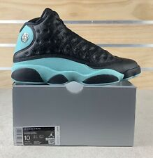 Nike Air Jordan 13 XIII Retro Island Green/Black 414571-030 Men's Size 10