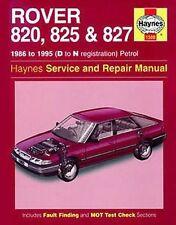 Manuali e istruzioni per auto di marche inglesi Rover