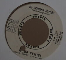 MEMO REMIGI  MI CREDONO POVERO/E TU? PROMO JUKE BOX ITALY PRESS SP RCA 1966