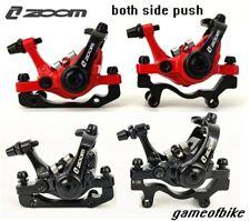 Bicicleta Xc ZOOM MTB Carretera mecánico Pinzas de frenos de disco delantero trasero ambos lados Push