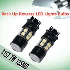 2Pcs White 3157 6000K HID 12 SMD LED Bulb Brake Reverse Tail BackUp Stop Lights