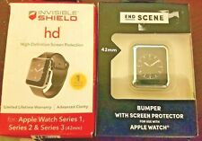 ZAGG Invisible Shield HD Apple Watch 42 mm Series 1-3 with Bonus New
