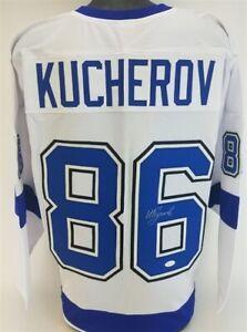 Nikita Kucherov Signed Tampa Bay Lightning  Jersey (JSA COA) All Star Winger