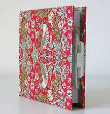 Cuaderno de aves Floral Liso páginas pluma y titular cubierta dura escrito Cojín de nota