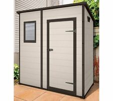 Keter Manor pent 6x4 Plastic Shed rrp £279.99 OUR PRICE £199.00 collect wf119hs