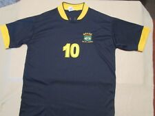 NEMAR JR #10 MED. JERSEY BRASIL RIO DE JANERO SOCCER FUTBAL MISTURA CARIOCA BLUE
