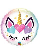 Magical Unicorn Eyelashes Helium Party Balloon