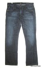 $218 Citizens of Humanity SID Straight Jeans MENS 34 x 31 Dark Faded Wash Denim