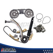 Timing Chain Shaft Kit Water Pump Fits 02-11 Chevry HHR Saturn Pontiac 2.2L 2.4L