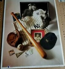 "MLB First Edition Print ""The Iron Horse"" Lou Gehrig (1993) No. 6 in Series"