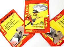 3 x packs of LCD screen wipes for DSLR cameras. 2-Step Wet/dry. By Hoodman USA