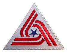 ALIEN Movie Triangle US Tricentennial Flag 3.5 inch Embroidered Iron on Patch