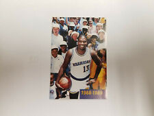 Golden State Warriors 1988/89 NBA Basketball Pocket Schedule - BMW