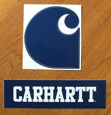 Carhartt 2 XL sticker dark blue Streetwear skateboard skate pegatinas (s229)