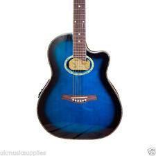 Guitarras y bajos azules