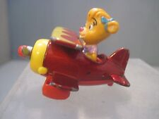 McDonald's Disney Tail Spin Girl Molly in Red Diecast Metal Airplane