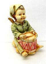 "Harmony Kingdom ""Bon Bon"" Angel Drummer Figurine Box"