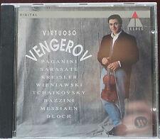 Fabulous Vengerov Virtuoso Violin 12 Tracks CD Golan Piano 66mins Germany Teldec