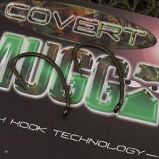 Gardner COVERT MUGGA CARP FISHING HOOKS Packet of 10 - BARBLESS SIZE 10