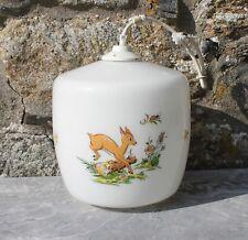 Lustre lampe plafonnier enfant Bambi Le chat botté Pierre et lapin vintage