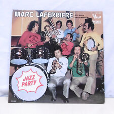 """2 x 33T Marc LAFERRIERE et son Orchestre Vinyles LP 12"""" JAZZ PARTY - VOGUE 682"""