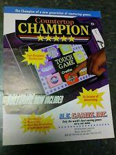 U.S Games COUNTERTOP CHAMPION flyer- good original
