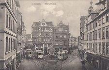 Normalformat Ansichtskarten aus Deutschland mit dem Thema Straßenbahn