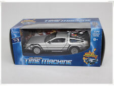 1:24 Welly Back to the Future  Delorean Time Machine  Diecast Car Model Toy