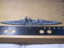 Wwii German Heavy Cruiser Prinz Euguen Warship Recognition 1:1200 Model Come