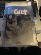 Batman The Cult 1 CGC 9.8 1988 2x Signed by J. Starlin & B. Wrightson {CGCB1}