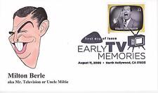 P M WAGNER HD/HP PMW CACHET FDC FIRST DAY COVER 2009 TV MILTON BERLE SHOW -AL
