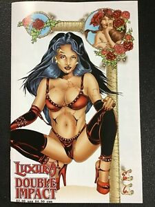 LUXURA DOUBLE IMPACT #1 (Avatar 1998) -- Carralero Cover Near Mint