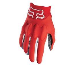 Fox carreras bicicleta de Montaña Attack guante rojo / negro m