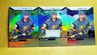 ALEX TUCH 2017-18 TRILOGY ROOKIE PREMIERES /99 LOT (3) JERSEY CARD # 57 GEM MINT