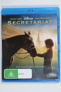 Secretariat, Walt Disney Horse Drama Blu-ray Reg ABC Like New (D697)