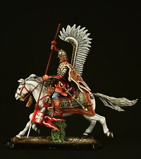 Tin soldier, Museum (TOP), Polish Winged Hussar, 2nd half of XVII c.  54 mm,