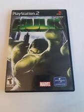 Hulk (Sony PlayStation 2 PS2 2003) CIB Video Game Tested with manual