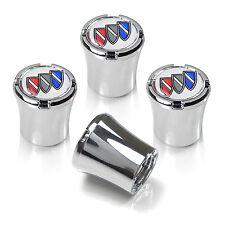 Buick Logo Chrome Finish ABS Tire Stem Valve Caps