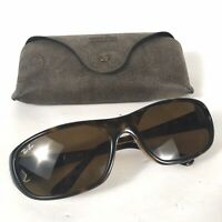 Preowned Authentic RAY BAN DADDY-O Tortoise  Brown Lens Sunglasses RB2016 BG04