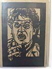 Fright Night Jerry Dandridge Laser Cut Tyler Stout Handbill Kolcut Print Mondo