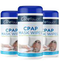 Care Touch Cpap Mask Wipes, Unscented/Lint Free - 70 Wipes for CPAP/BIPAP 3-Pack