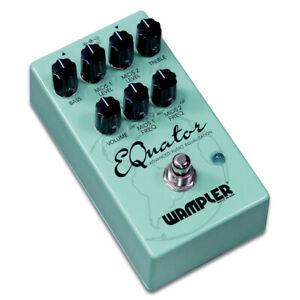 Wampler EQuator Equalizer Guitar Pedal, Open Box item, Full Warranty
