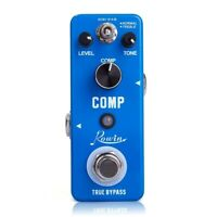 Rowin Compressor Pedal Comp Effect Pedal for Guitar H1Z3